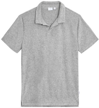 Onia Shaun Towel Terry Polo Shirt