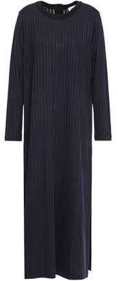 Each X Other Ribbed-knit Midi Dress
