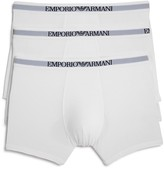Emporio Armani Pure Cotton Boxer Briefs - Pack of 3