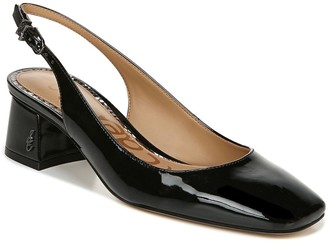 Sam Edelman Patent Leather Sling-Back Pumps - Tamra