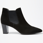 Peter Kaiser Magda Block Heeled Ankle Chelsea Boots, Black