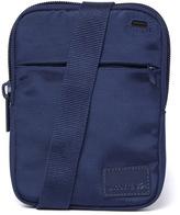 Lacoste Blue Medium Flat Crossover Bag