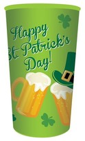 Creative Converting St. Patrick's Day 32 oz Plastic Cup - 1 Count