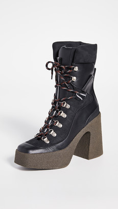 Stella McCartney Lace-Up Boots