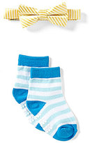 Starting Out Baby Boys Bow Tie & Matching Socks Set