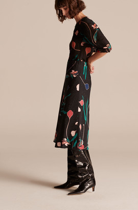 Rebecca Taylor Botanical Bloom Skirt