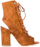 Laurence Dacade Nelly cut-out boots - women - Leather - 37.5