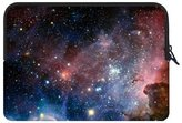 """Laptop Sleeve Fashionable Style Nebula Galaxy Space Universe Theme Pattern Macbook, Macbook Air/Pro 15.6 Inch All 15.6"""" Laptop Notebook Computer Carrying Case Sleeve (two sides)"""