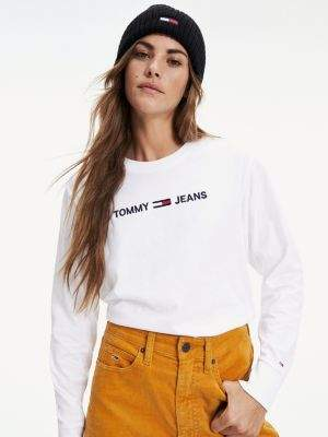 Tommy Hilfiger Regular Fit Long Sleeve Logo T-Shirt