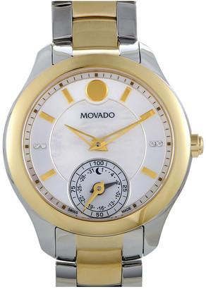 Movado Women's Stainless Steel Diamond Watch