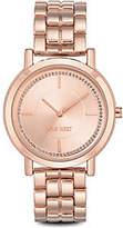 Nine West Ladies Rosetone Ina Bracelet Watch