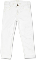 Marie Chantal White Slim Fit Jean