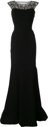 Saiid Kobeisy Embellished Long Gown