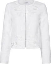 Exclusive for Intermix Julia Embroidered Linen Jacket