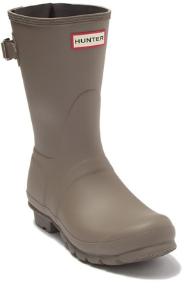 Hunter Original Short Back Adjustable Waterproof Rain Boot