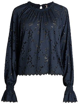 Free People Olivia Lace Blouse