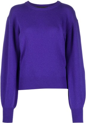 FEDERICA TOSI Long Bell Sleeve Sweater