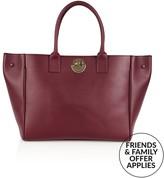 Hill & Friends Happy Tote Bag- Burgundy