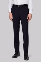 Moss Bros Performance Skinny Fit Navy Trousers