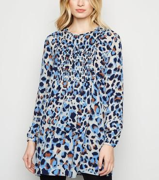 New Look JDY Leopard Print Tunic Dress