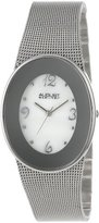 August Steiner Women's AS8053SS Stainless Steel Oval Watch