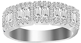 Bliss Sterling Silver & Cubic Zirconia Ring