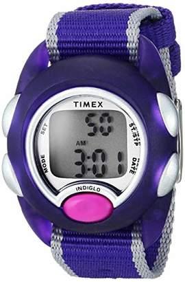 Timex Kids TW2R99100 Time Machines Digital Fabric Strap Watch