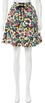 RED Valentino Floral Printed Knee-Length Skirt w/ Tags