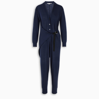 Stella McCartney Black long-sleeved jumpsuit