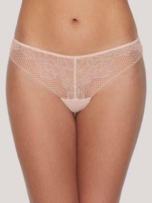 DKNY Women's Soft Tech Lace Thong