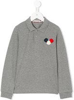 Moncler logo polo shirt - kids - Cotton - 4 yrs