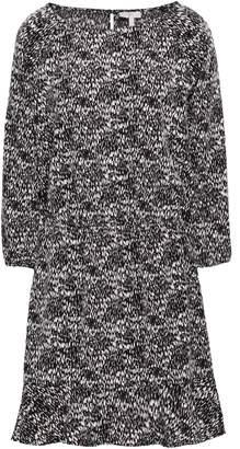 Joie Printed Crepe De Chine Mini Dress