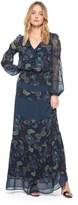 Juicy Couture Danube Floral Print Mix Maxi Dress