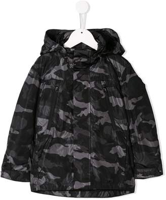 Moncler Enfant Padded Camo Jacket