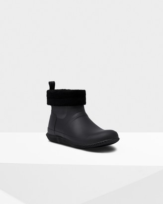 Hunter Men's Original Insulated Roll Top Sherpa Boots