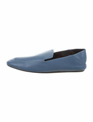 Lanvin Leather Loafers Blue