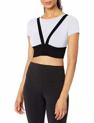 Alo Yoga Women's Revolve Crop Tee Shirt