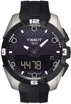 Tissot T-Touch Expert Solar Touchscreen Rubber-Strap Watch