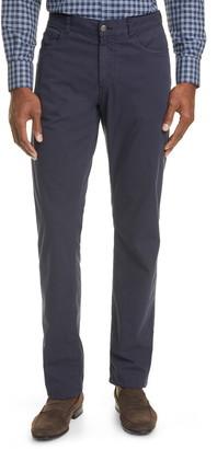Canali Classic Fit Stretch Cotton & Silk Pants
