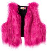 Girls 7-16 DreamWorks Trolls Sparkly Faux-Fur Vest