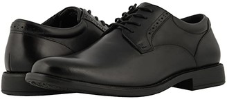 Nunn Bush Nantucket Waterproof Plain Toe Oxford (Black WP) Men's Plain Toe Shoes