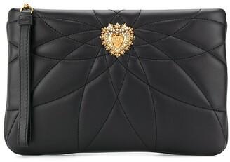 Dolce & Gabbana quilted Devotion clutch