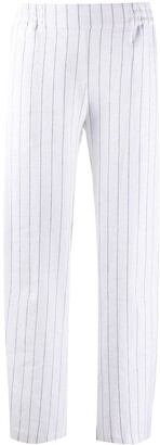 stagni 47 Cropped Pinstripe Trousers