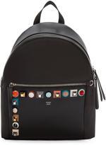 Fendi Black Rainbow Backpack