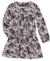 Imoga Toddler's, Little Girl's & Girl's Floral Long-Sleeve Dress