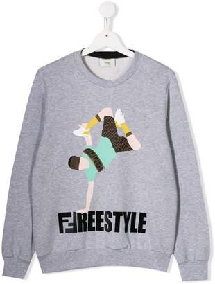 Fendi TEEN Freestyle sweatshirt