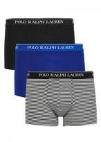 Polo Ralph Lauren Classic Stretch Cotton Boxer Briefs - Set Of Three