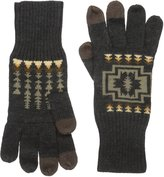 Pendleton Men's Jacquard Knit Gloves