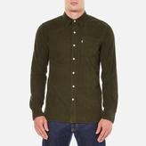 Levi's Men's Sunset 1 Pocket Shirt Olive Night Melange