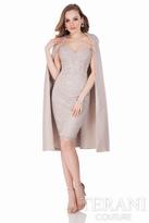 Terani Evening - Strapless Textured Cocktail Dress 1621C1286